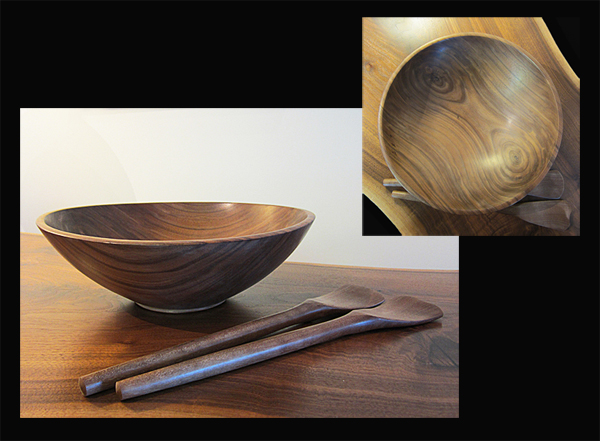 DAVE THOMPSON: Salad Bowl, Walnut