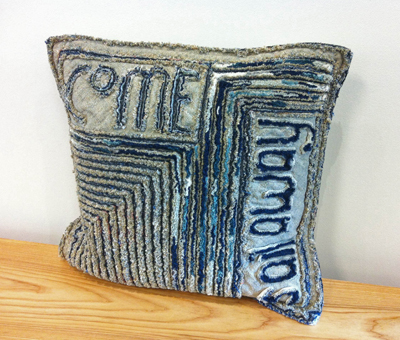 Tom JOHNSON: Come Sail Away Pillow