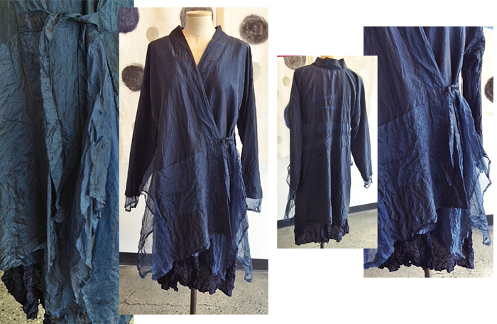 CAROL LEE SHANKS: Nomad Coat, Midnight