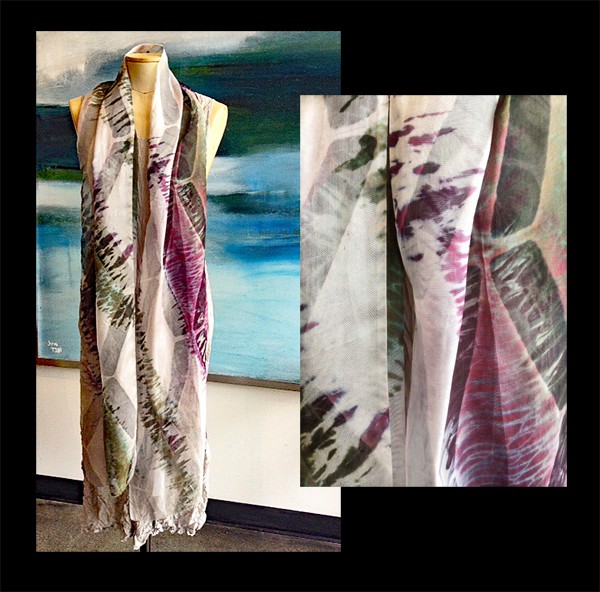 ANA LISA HEDSTROM: Long Shawl/Scarf