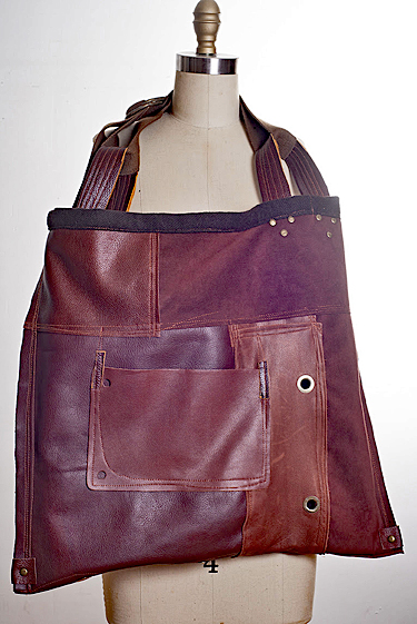 AGNIESZKA KULON FOR KREATIA: Leather Bag, Dark Brown