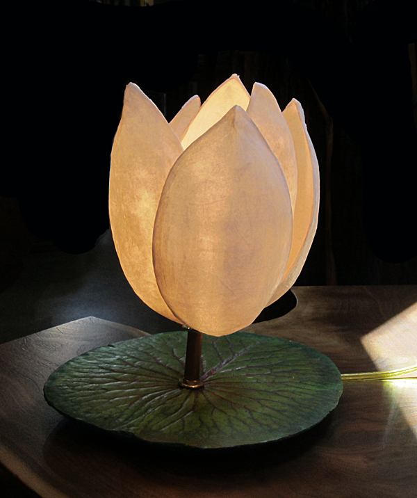 L. Wendy Dunder: Lotus, Table Lamp