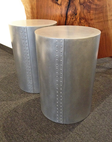 MICHELLE de la VEGA/JEFF LUDWIG: Silver Bullet Side Table