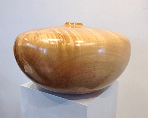 MILO MIRABELLI: Closed Form. Figured Maple