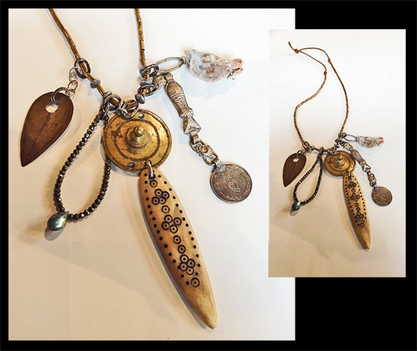 VIRGINIA PAQUETTE: 1 - Necklace: Charms & Talisman Series