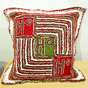 TOM JOHNSON: HoHoHo Pillow
