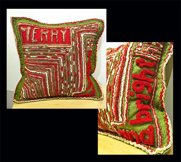 TOM JOHNSON: Merry and Bright Pillow