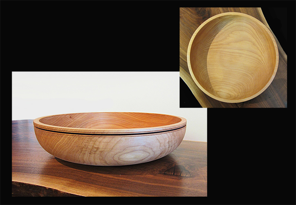 SCOTT TRUMBO: Bowl, Oregon Maple