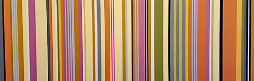 IRENE YESLEY: Orange and Yellow Stripes